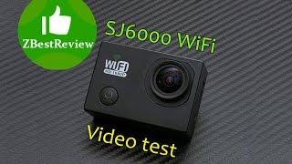 спортивная камера SJ6000 Видео тесты 1080 30fps Video test Banggood