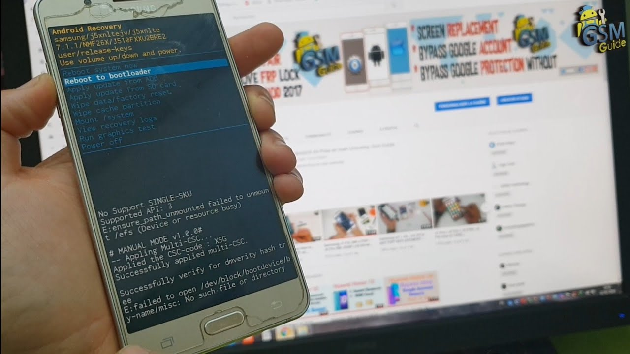 how to fix EFS Damaged on samsung 2019 devices Not Registred on network