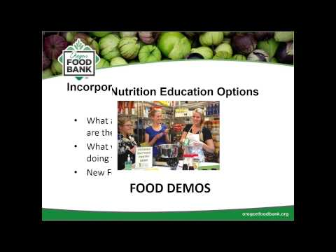 Getting Started with Cooking and Nutrition Education