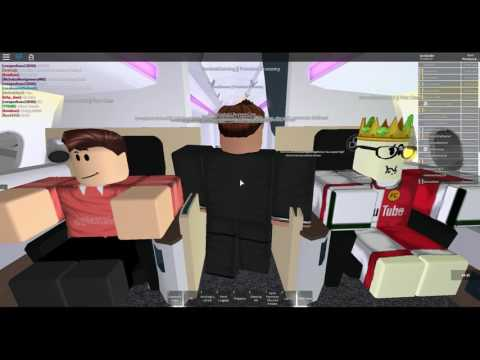 [ROBLOX]  Flight onboard LeMonde!