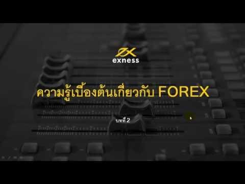 ความรู้เบื้องต้นเกี่ยวกับ Forex Part 2
