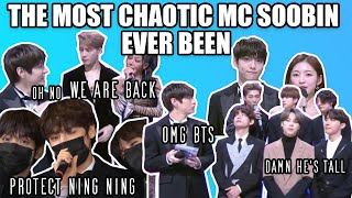 the speical reunion ep of chaotic MC Soobin (feat. Arin, TXT, BTS, Jackson, Jessi, NCT, Stray Kids)