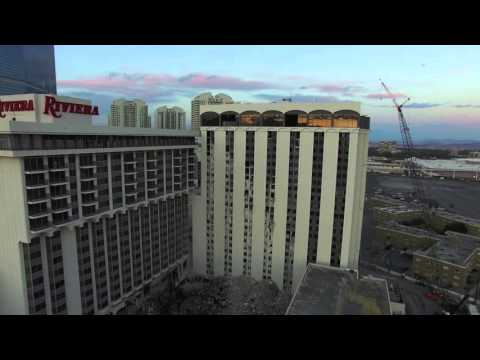 Riviera Las Vegas Hotel-Casino Demolition Update