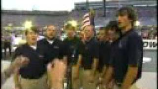 Star Spangled Banner King College Choir Ensemble 08-22-08