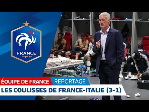 Equipe de France : Les coulisses de France - Italie (3-1) à Nice I FFF 2018