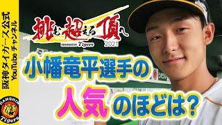 小幡竜平選手の人気のほどは?たくさんの応援メッセージありがとうございます!