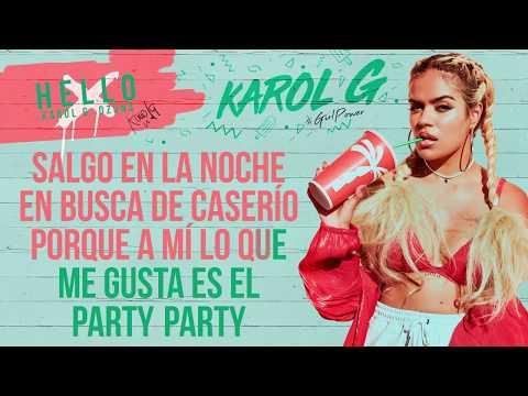 Karol G - Hello [Karaoke]