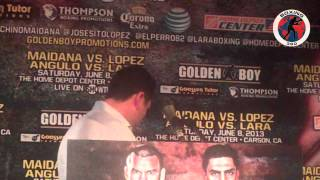 Boxing 360 - Maidana - Lopez - Angulo - Lara Los Angeles Press Conference Part 1