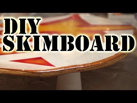 How to make a plywood skimboard - skimflat