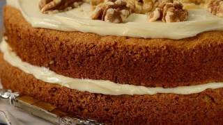 Carrot Cake Recipe Demonstration - Joyofbaking.com