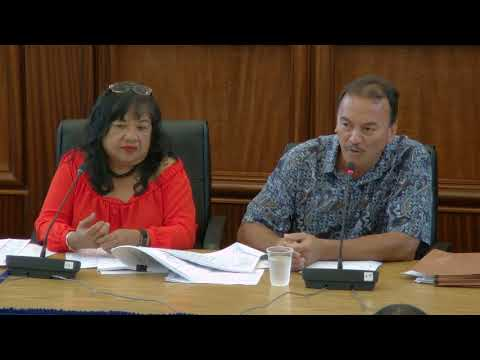 34th Guam Legislature Afternoon Session - August 23 2017