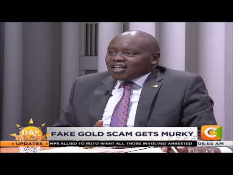 DAY BREAK |Fake gold scam gets ugly