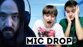РЕАКЦИЯ С БРАТОМ на BTS - MIC Drop (Steve Aoki Remix) | ОТСЫЛКА к THE LAST OF US!!!