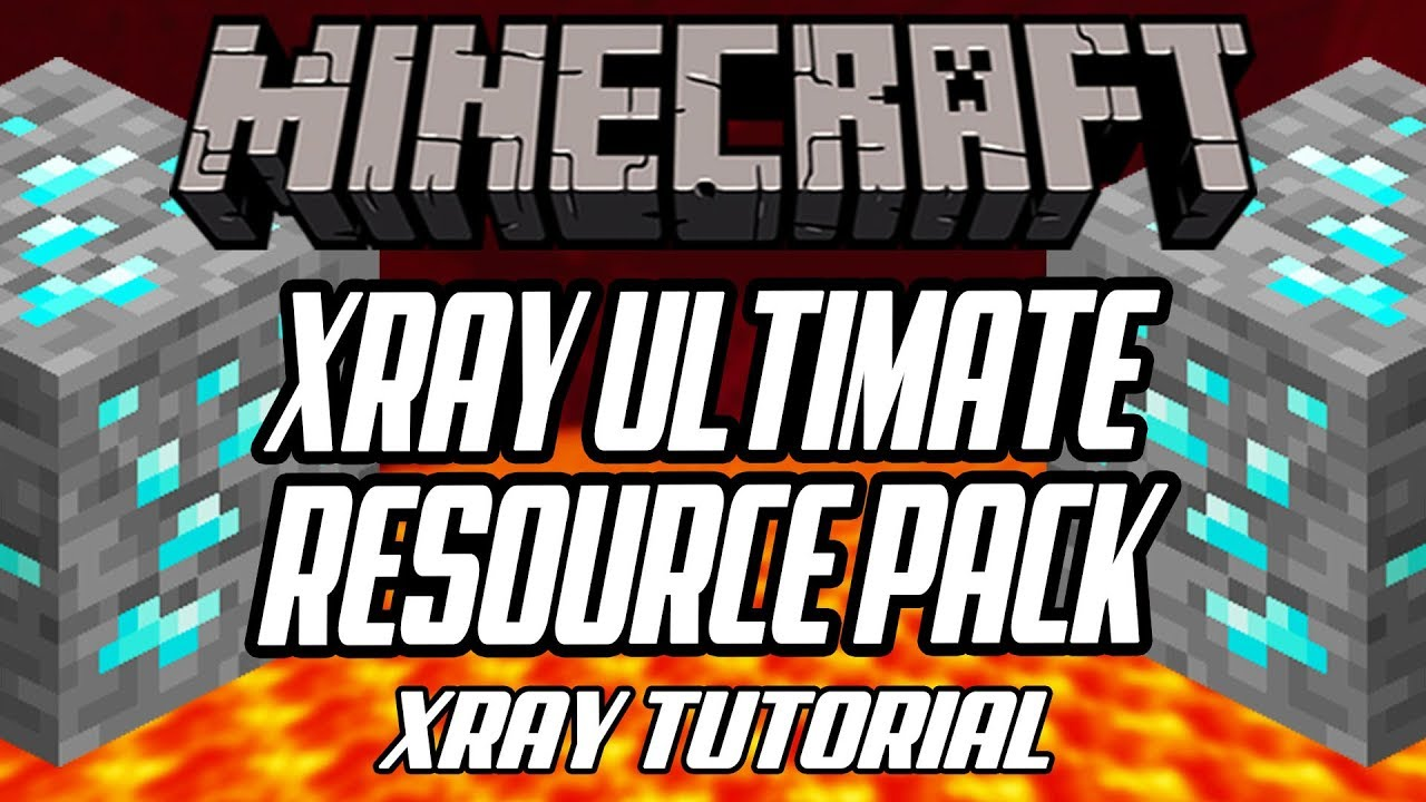 Minecraft How To Install Xray Ultimate Resource Pack 11.111.11 Tutorial