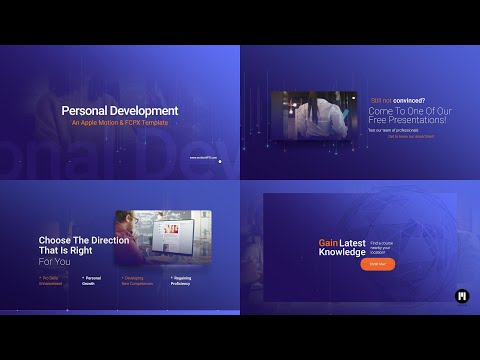 Personal Development Modular Template for Apple Motion & FCPX - MotionVFX thumbnail