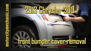 2013 Chrysler 300 front bumper cover