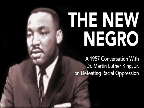 The New Negro | Talk on Defeating Oppression w Dr. Martin Luther King (1957)