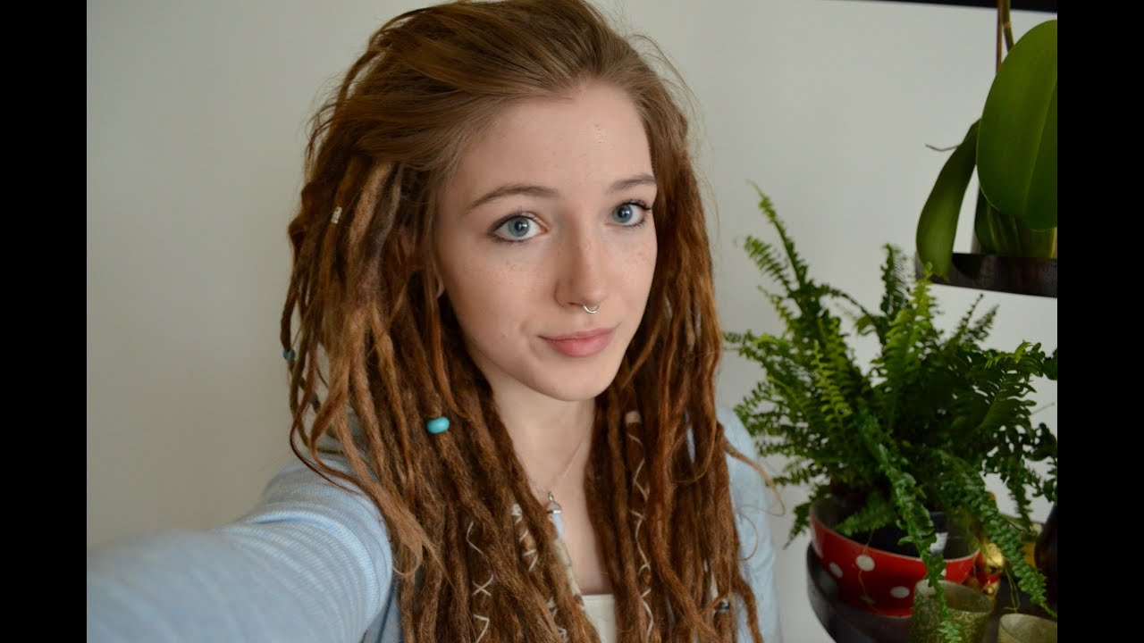 Dread Frisuren Dutt 🌿💕 YouTube