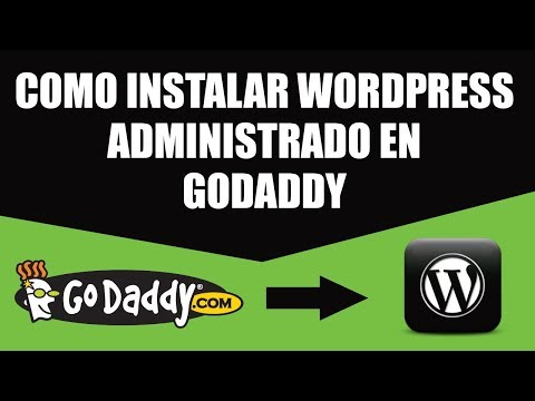 Instala WordPress usando cPanel | GoDaddy TODO EN ESPAÑOL 2018