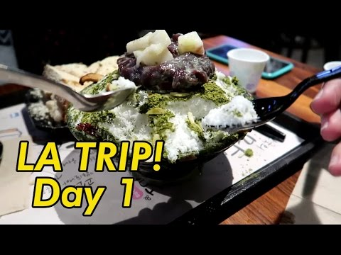 LA Trip! Anaheim Packing District, smoking, and SNAILS! Day 1