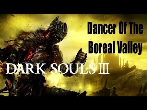Dark Souls 3 - NOOB Kills - Dancer Of The Boreal Valley Boss (Co Op Online Multiplayer)