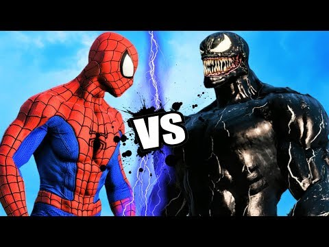 THE AMAZING SPIDER-MAN vs VENOM - Epic Battle