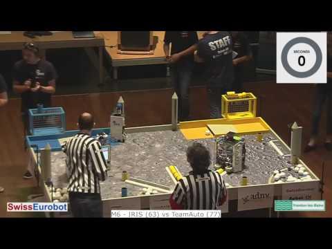 SwissEurobot 2017 Finals