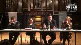 "Panel Discussion: ""How to recruit young organists in the future"""