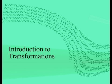 Transformations: Translation,Rotation, Scaling and Reflection