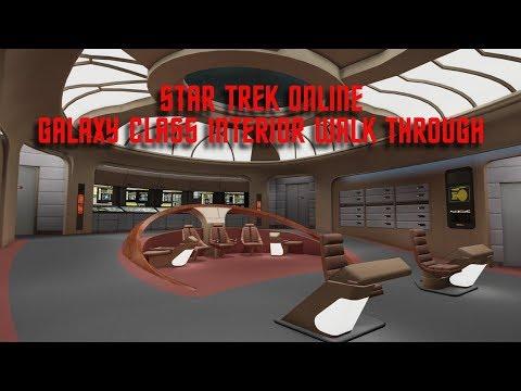 Galaxy Interior & Discovery Uniform   Star Trek Online   Walk Through