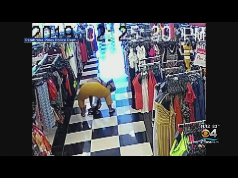 AJ - Cops Are Looking for Woman Who Did Some Serious Twerking While Shoplifting