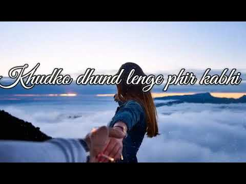 Tujme Khoya Rahu Mai,Mujhme Khoyi Rahe Tu....||Cute Romantic WhatsApp Video Status