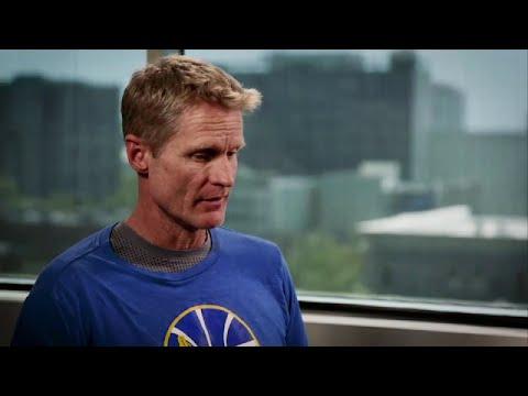 Gametime: Steve Kerr interview with David Aldridge | Warriors vs Cavaliers Game 5 | 2016 NBA Finals