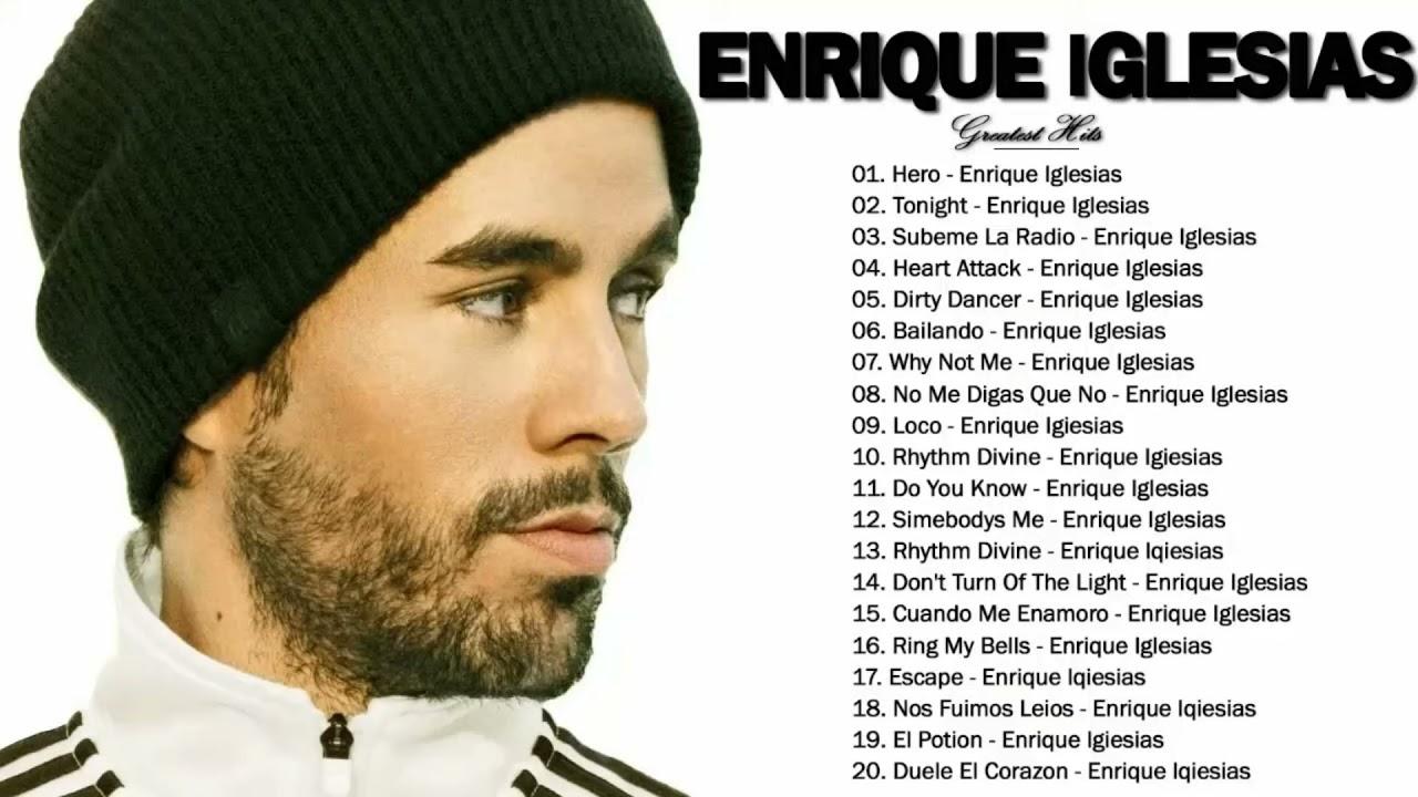Enrique Iglesias Greatest Hits Full Playlist 2021 - Best of Enrique Iglesias