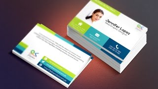 how to create your own business card from scratch in illustrator with mockup using photoshop