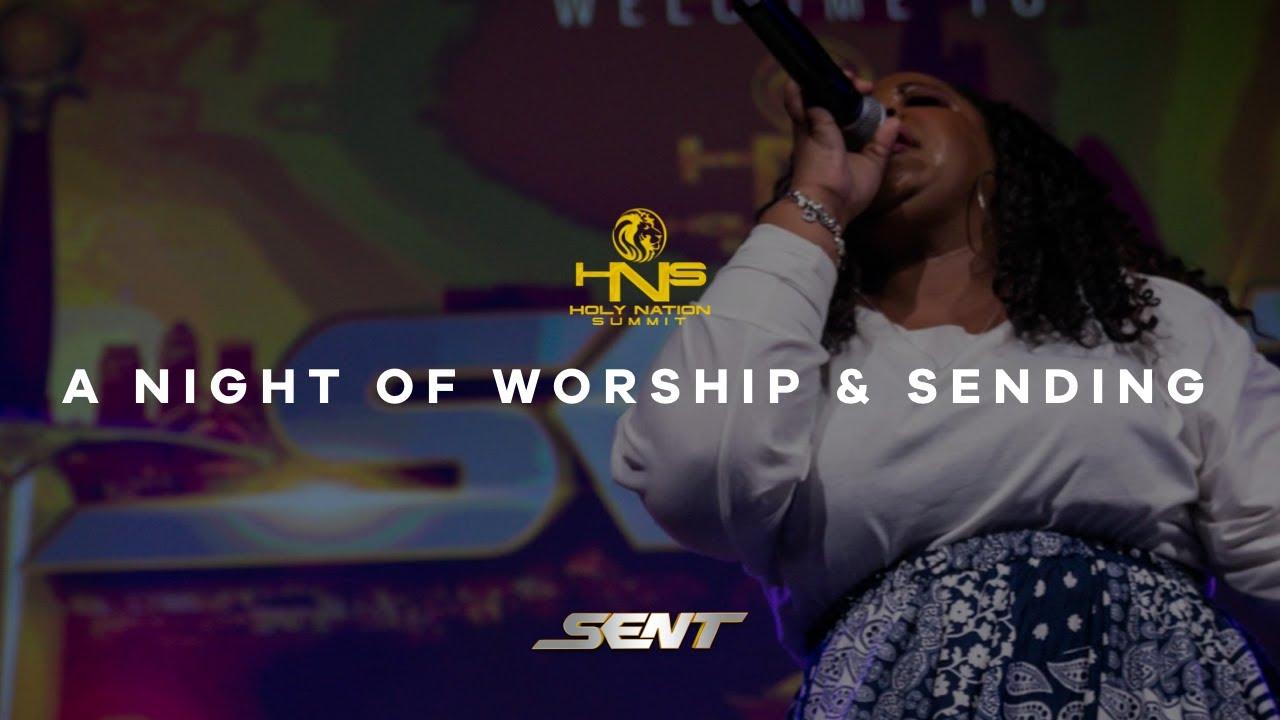 Download A NIGHT OF WORSHIP & SENDING | Psalmist Raine | Holy Nation Summit 2018 (#HNSV)