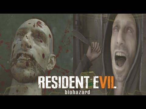 RESIDENT EVIl 7 Lucas Story (ALL LUCAS Scenes NOT A HERO, Banned Footage)