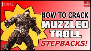 Infinity Blade 3: HOW TO CRACK MUZZLED TROLL STEPBACKS! (Dual Wielding)
