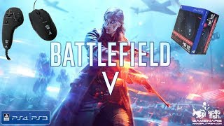 The FragFx Piranha PS4 owns Battlefield V