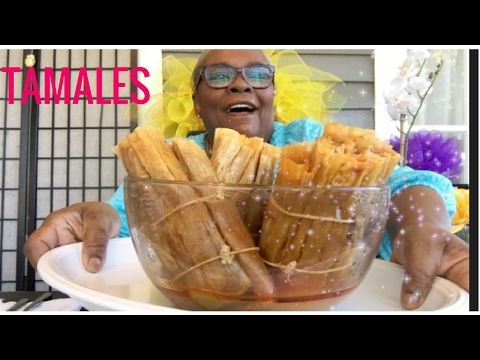 TAMALES !! Mary Jo's Mississippi Delta Style HOT TAMALES  • MUKBANG (EAT WITH ME )먹는 방송