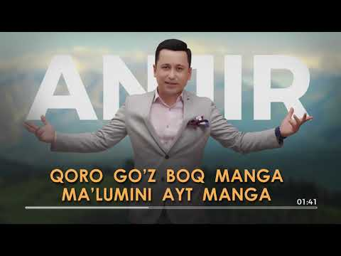 Bunyodbek Saidov - Anjir ( Karaoke )