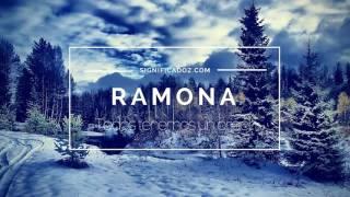 RAMONA - Significado del Nombre Ramona ♥