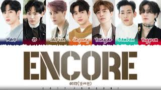 GOT7 - 'ENCORE' Lyrics [Color Coded_Han_Rom_Eng]