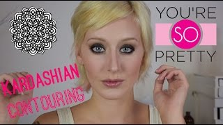 Kim Kardashian Makeup Tutorial Thumbnail