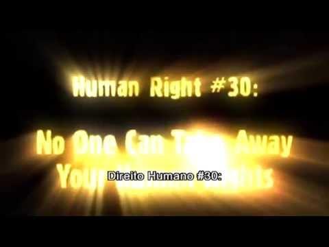 Видео Direitos humanos artigos