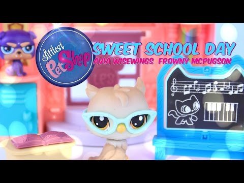 Unbox Daily: Littlest Pet Shop Sweet School Day PLUS Avia Wisewings & Frowny McPugson