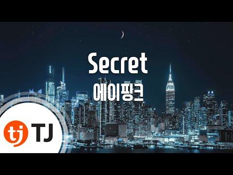 Secret_Apink 에이핑크_TJ노래방 (Karaoke/lyrics/romanization/KOREAN)