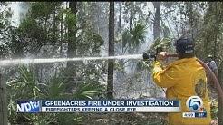 Greenacres fire under investigation