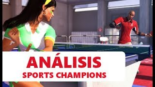 Vídeo análisis / review Sports Champions - PS3