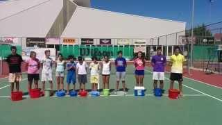 Ice_bucket_challenge - AEK TRIPOLIS TENNIS 2014